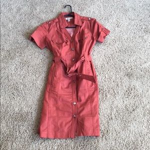 Dress barn red dress size 10